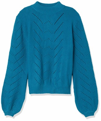 Forever 21 Women's Plus Size Pointelle Mock Neck Sweater