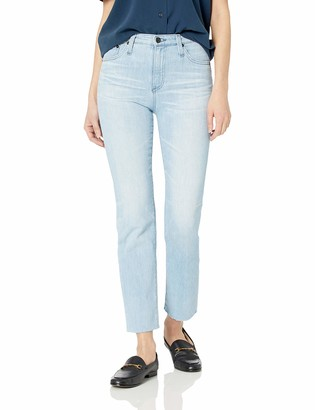 AG Jeans Women's Isabelle high-ries Straight Crop