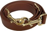 """SaSarili The Everyday Collection - 1"""" Wide Brown Adjustable Replacement Cross Body Purse Strap"""