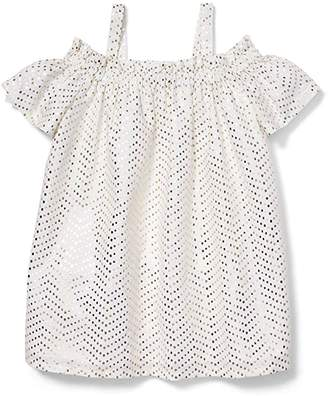 Janie and Jack x Rachel Zoe Cold Shoulder Dress (Little Kids/Big Kids)