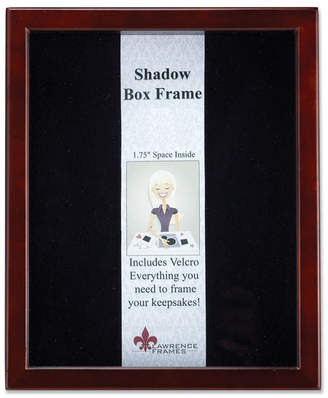 """Lawrence Frames 790180 Espresso Wood Shadow Box Picture Frame - 8"""" x 10"""""""