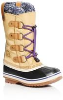 Sorel Girls' Joan of Arctic Knit Waterproof Boots