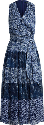 Ralph Lauren Tiered Georgette Dress