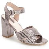 Topshop Women's Radiant Metallic Sandal