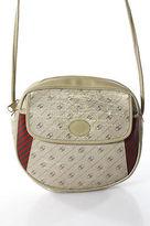 Gucci Stone Beige Coated Canvas Geometric Print Crossbody Bag