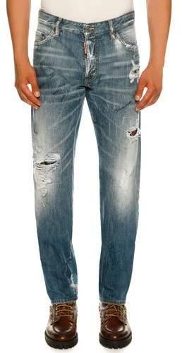DSQUARED2 Slim-Fit Distressed Jeans
