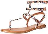 Qupid Women's LENSIE-01 Gladiator Sandal