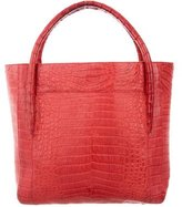 Nancy Gonzalez Small Crocodile Tote