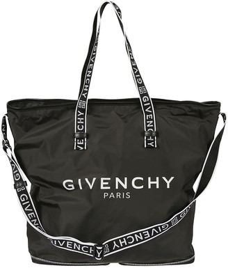 Givenchy Logo Print Shopper Tote