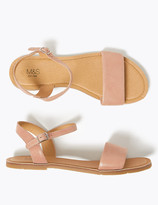 Marks and Spencer Kids' Leather Sandals (13 Small - 6 Large)