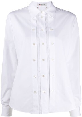 Ports 1961 Triple-Placket Long Sleeved Shirt