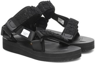 Cecilie Bahnsen x Suicoke Maria appliqued sandals