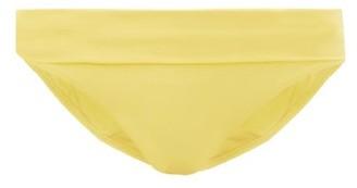 Melissa Odabash Provence Foldover Bikini Briefs - Yellow