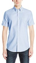 Ben Sherman Men's Short Sleeve Classic Oxford Button Down Shirt