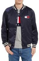 Tommy Hilfiger Men's Tjm Satin Bomber Jacket