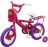 """John Deere 16"""" Girls Bicycle, Pink"""