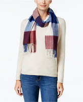 Charter Club Buffalo Check Cashmere Scarf, Created for Macy's