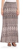 Joie Gamille Printed Maxi Skirt