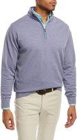 Peter Millar Crown Comfort Interlock Quarter-Zip Sweater
