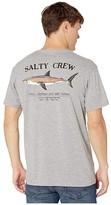 Salty Crew Bruce Short Sleeve Tee (Athletic Heather) Men's T Shirt