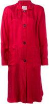 Forte Forte panelled sleeve coat - women - Viscose/Polyamide - 0