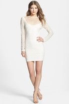 Dress the Population Jessica Metallic Lace Bodycon Dress