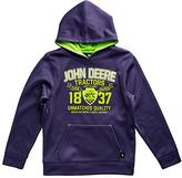 John Deere Navy 'John Deere Unmatched Quality' Hoodie - Boys