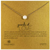 Dogeared Pearls of Love Large Pearl Single Strand Necklace