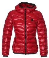 Blauer Women's Red Polyester Down Jacket.
