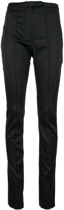 Alex Perry Kyle high waisted skinny trousers