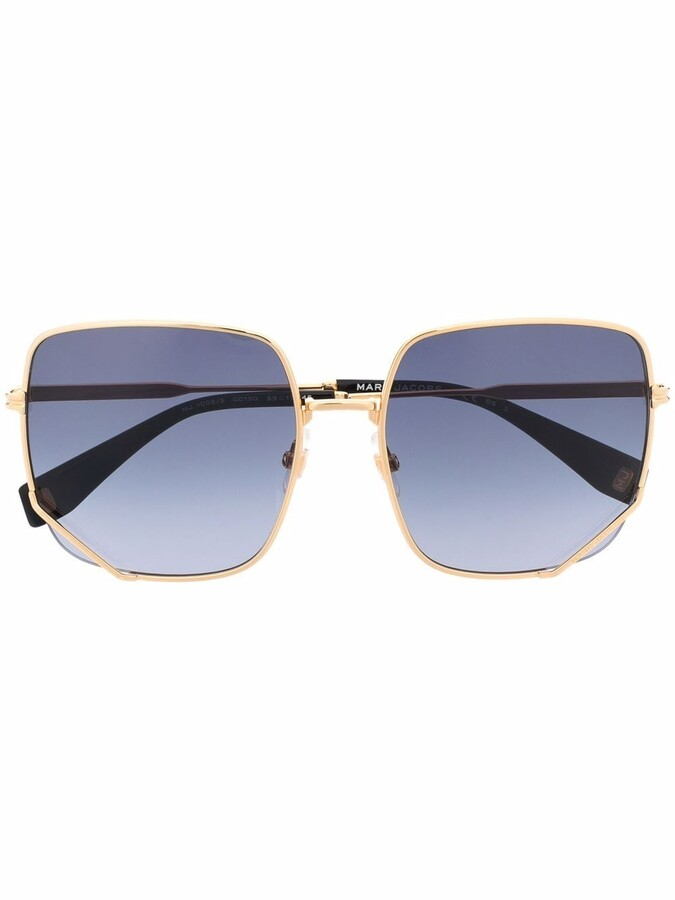 Thumbnail for your product : Marc Jacobs Square Tinted Sunglasses
