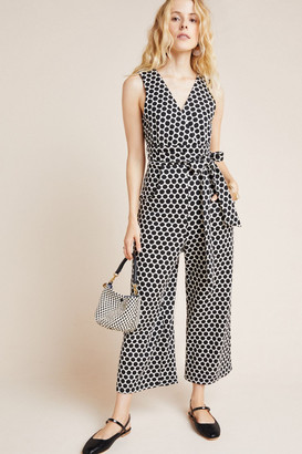 Eva Franco Masha Abstract Knit Jumpsuit