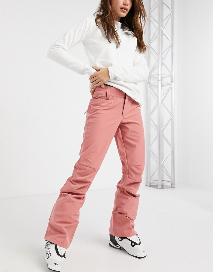 Roxy Creek ski pants in pink