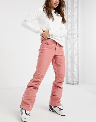 Roxy Creek ski pants in pink