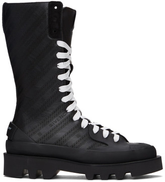 Givenchy Black Clapham Mid-Calf Boots