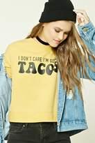 Forever 21 Tacos Graphic Sweatshirt