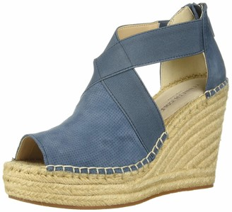 Kenneth Cole New York Women's Olivia 2 Perf Stretch Espadrille Wedge Sandal