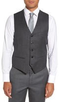 Ted Baker Men's Troy Trim Fit Solid Wool Vest
