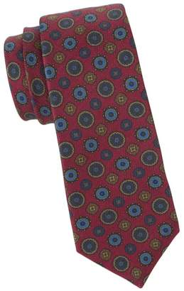 Kiton Mixed Mandala Silk Tie