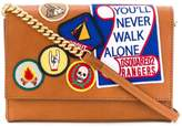DSQUARED2 Never Walk Alone patched bag