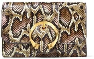 Jimmy Choo Mini Snakeskin Madeline Cross-Body Bag
