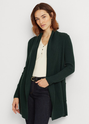 Ralph Lauren Washable Cashmere Cardigan Sweater