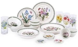 Portmeirion Botanic Garden 25-Pc. Dinnerware Set, Service for 4, Created for Macy's