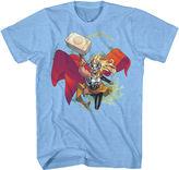 Novelty T-Shirts Marvel Short-Sleeve Thor Jane Foster Tee