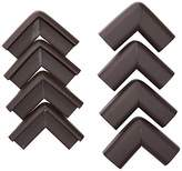 Equipment AKORD Baby Safety Corner Protectors for Desk Table, Dark Brown