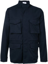Closed zipped coat - men - Wool - M