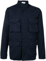 Closed zipped coat - men - Wool - XL
