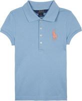 Ralph Lauren Big Pony piqué cotton polo shirt 6-14 years