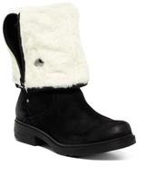Manas Design Faux Fur Convertible Suede Boot