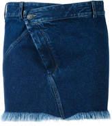 A.F.Vandevorst short denim skirt